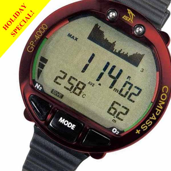 GP4000 Dive Computer & Digital Compass Great Gift at a Great Pri